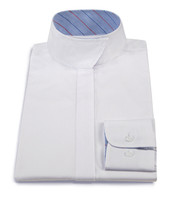 RJ Classics Children's Snap Collar Shirt , White, Sizes 10 & 16 Only