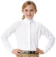 Ovation Technical Show Shirt with Dry-Tex, Sizes 6 - 14