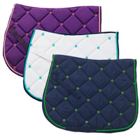 Centaur Pony Saddle Pad with Daisy Embroidery