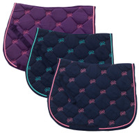 Centaur Pony Saddle Pad with Butterfly Embroidery