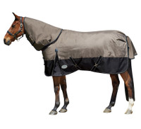 "Weatherbeeta Original 1680D Detach-A-Neck Medium Turnout, 57"" Only"