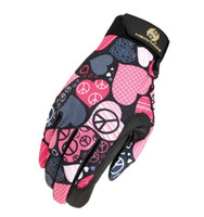 Heritage Performance Gloves - Peace and Love, Sizes 4 - 7