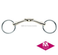 Herm Sprenger KK Ultra Double Jointed Bradoon, 16mm, Sensogan, 4.5""