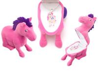 Pink Pony Pendant with Pony Gift Box