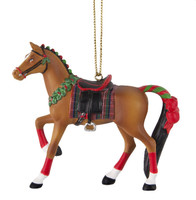 Painted Ponies English Holiday Ornament