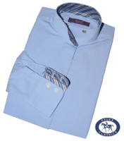 Essex Classics 'Nips Gardenia' CoolMax Shirt, Light Blue, Size 8 Only