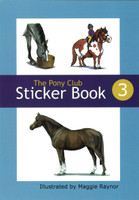 The Pony Club Sticker Book #3