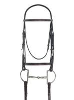 Ovation Raised Fancy Stitched Bridle, Pony & Cob