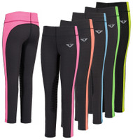 TuffRider Neon Ventilated Schooling Tights