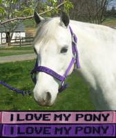 'I Love My Pony' Halter