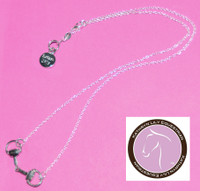 Kathryn Lily Silver Bit Necklace