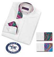 Essex Classics CoolMax 'Nips Victoria' Wrap Collar Shirt, Sizes 10 Only
