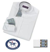Essex Classics CoolMax Wrap Collar Shirt, Nips Livingston, Size 10 Only