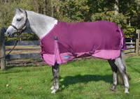 "Weatherbeeta Original 1200D 220gTurnout, Plum/Pink, 57"" - 66"" Only"