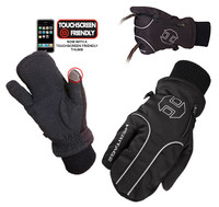 Heritage Arctic Winter 3-Finger Gloves, Size 5 - 7