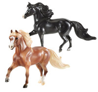 Breyer Gentle Carousel Miniature Therapy Horses, Magic & Hamlet