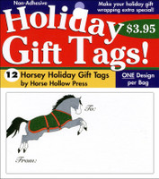 'Christmas Leap' Holiday Gift Tags, Pack of 12