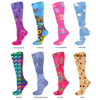 InkStables Equestrian Boot Socks for Girls