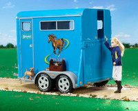 Breyer Traditional Series Blue Horse Trailer