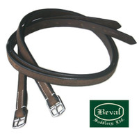 Beval Short Stirrup Leathers, 36""