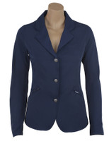 Kathryn Lily Showteck Soft Shell Coat, Navy, Sizes 2 - 14