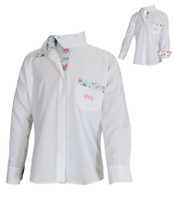 Equine Couture Children's Bindia Long Sleeve Show Shirt, Sizes 8, 10 & 12 Only