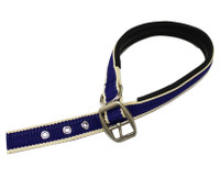 Horseware Amigo Dog Collar, Atlantic Blue/Ivory