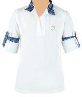 Kathryn Lily ProAir Long Sleeve White Shirt, Bella