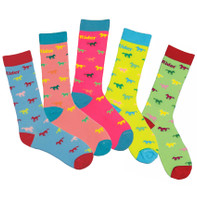 TuffRider Neon Kids Socks