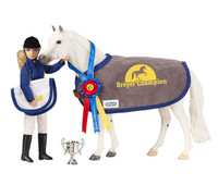 Breyer Winners Circle Accessroy Set, English