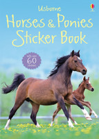 Usborne Horses & Ponies Sticker Book