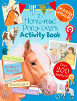 The Horse-Mad-Pony-Lovers Activity Book