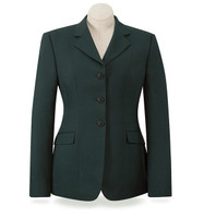 RJ Classics Washable Green Herringbone Show Coat, Sizes 2 - 16