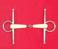 Happy Mouth Full Cheek Snaffle, 4.5""