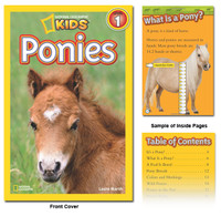 National Geographic Readers: Ponies by Laura F. Marsh
