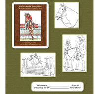 My Day at the Horse Show - A Tell Your Own Story Coloring Book