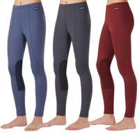 Kerrits Kids Performance Tight, Barn Red, Dark Blue & Ebony
