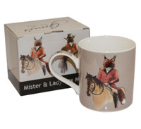 Mister and Lady Fox Boxed Mug