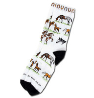 Kids Horses and Horseshoe Socks