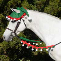 Holiday Horse Wear, Elf Rein Covers
