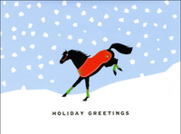 'Feelin Good' Horse Holiday Cards - Box of 8