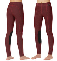 Kerrits Kids Fleece Performance Tight, Barn Red