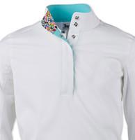 RJ Classics Rebecca Jr Shirt - White with Owls, XS - XL