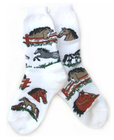 Pony Socks - Childs & Ladies
