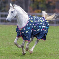"Shires Tempest Original Turnout Rain Sheet, Cow Print, 48"" - 69"""