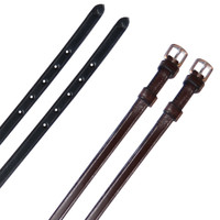 Exselle Spur Straps Childs & Ladies, Black & Brown
