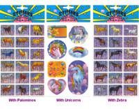 Rainbow Horse Stickers