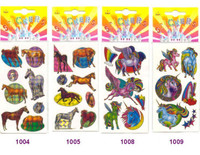 More Rainbow Horse Stickers