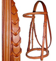 Edgewood Raised, Fancy Bridle & Reins, Pony & Cob