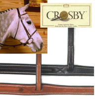 Crosby Plain Raised Bridle